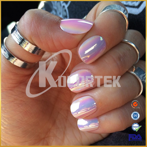 Chrome nail powder aurora chrome pigment supplier