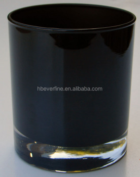 Jar Black Glass 95