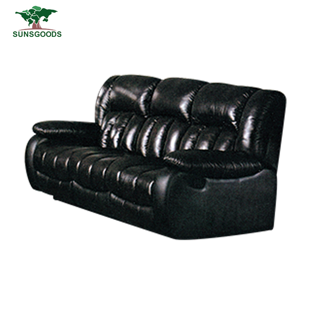 Hot Sale Contemporary Leather Furniture Sofa Couch Best Comfortable  Recliner Sofa