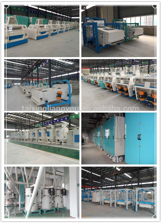 15 ton per day small wheat flour mill equipment