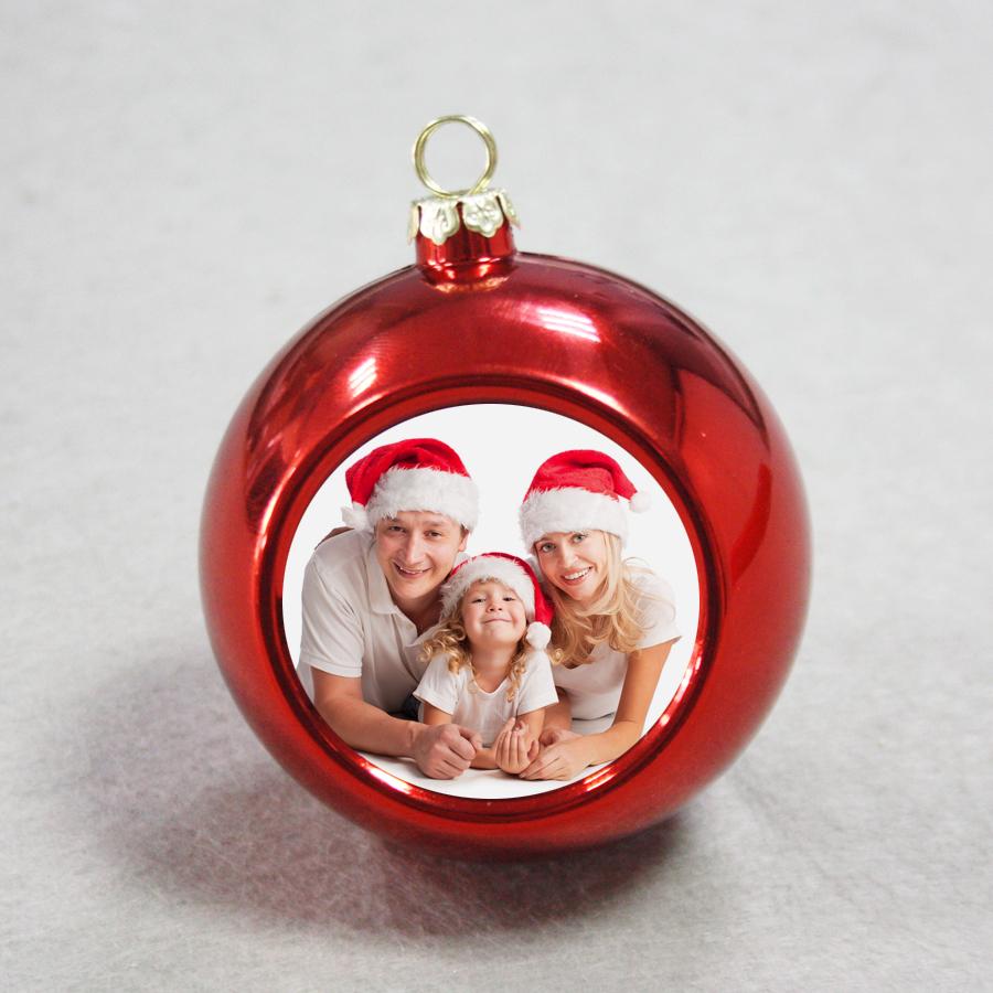 фотосувениры печать фото на новогодних шарах глаза
