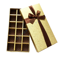 Custom Chocolate Paper Candy Gift Box Packaging