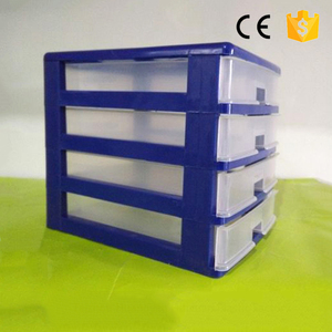 Eco-friendly high quality 100% recycled plastic drawer organizer sundries storage box