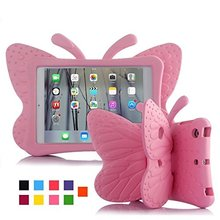 New Kids Butterfly Shockproof Heavy Duty EVA Case Cover For 2017 New iPad Samsung Tablet