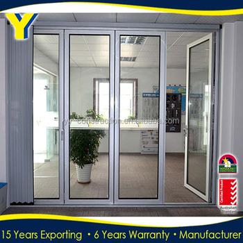Hohe Qualität Außen Glas Falttüren Platzsparend Für Häuser/Bifold Türen