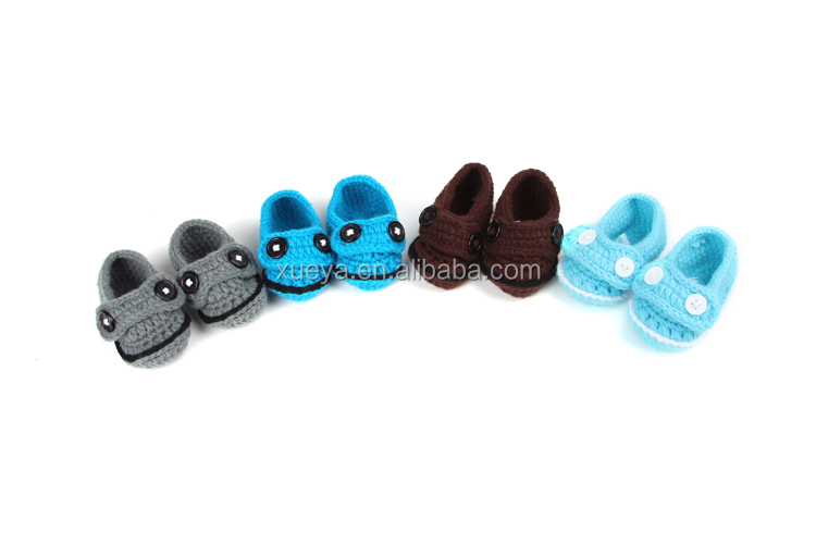 Winter kids warmer hottest cheap baby shoes with knitting
