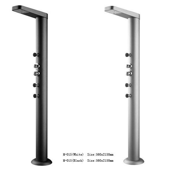 Monalisa Pool Outdoor Shower Column M 015 Rain Aluminum Product On Alibaba