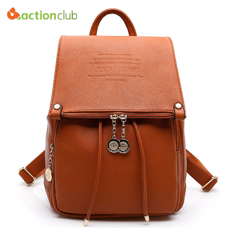 2015 Classics Leather Backpack Fashion Shoulder Bag Girls School Backpacks Multifunctional Bags For Women Luxury Backpack