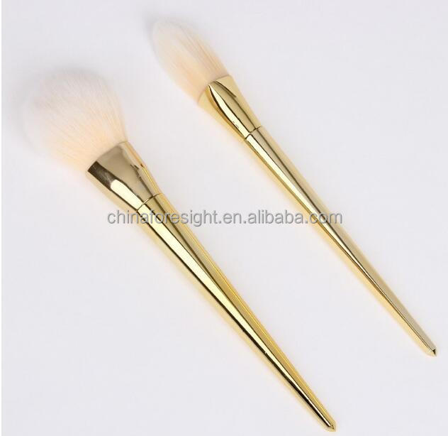 Small single cosmetic brush foundation 2 colors makeup brush