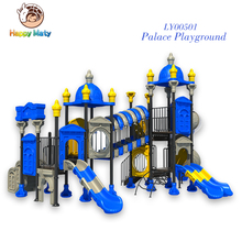 European standard castle children playground equipment outdoor and indoor with EN1176