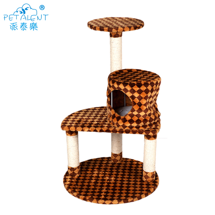 Stylish Natural Paradise Cat  Scratching Tree,Cat Pet Toy