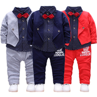 2019 eBay hot sale kids fashion suit casual wear baby sets clothing autumn children boy boutique clothes