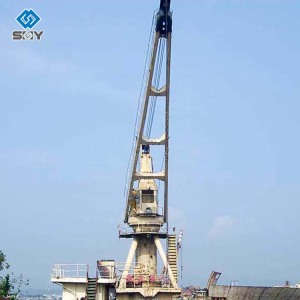 Small Knuckle Boom Loader Marine Crane