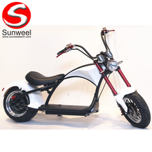 Suncycle Meest Modieuze Citycoco 2 Wiel <span class=keywords><strong>Elektrische</strong></span> Scooter Volwassen <span class=keywords><strong>Elektrische</strong></span> Motorfiets