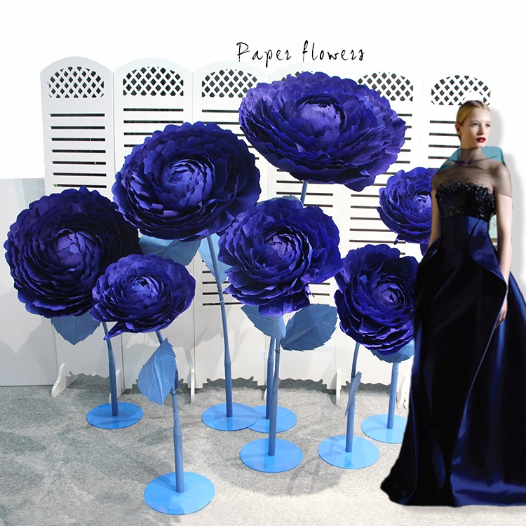 Shanghai Factory Specializes In Selling Large Size Paper Flowers Buy Large Size Paper Flowers Shanghai Factory Large Size Paper Flowers Professional