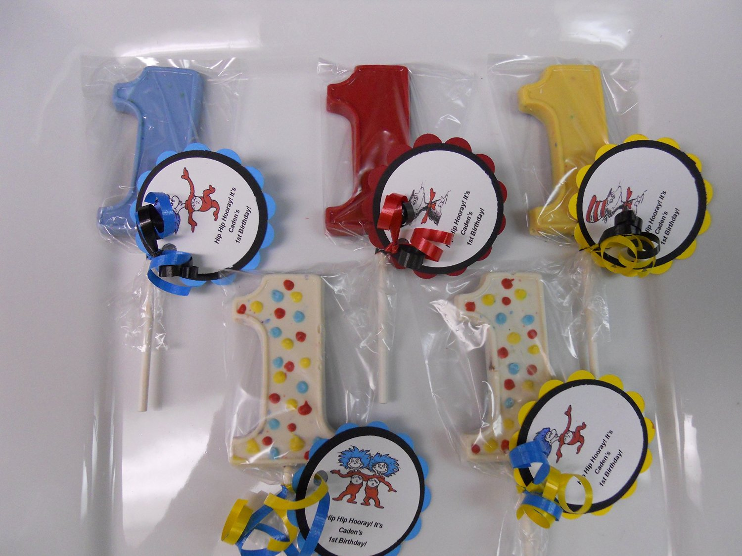 Buy 12 Dr Seuss Cat In The Hat Thing 1 2 1st Birthday Gourmet