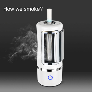 Wholesale customize smoke electronic cigarette lighter second hand smoke car air purifier portable funny ashtray