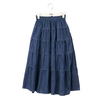 Ladies Fashion Long Blue Jean Skirts - Buy Long Blue Jean Skirts ...