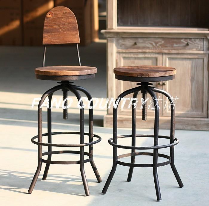 loft farmhouse rustic wrought iron wood wardrobe chair lift bar stool stock classical nostalgia. Black Bedroom Furniture Sets. Home Design Ideas