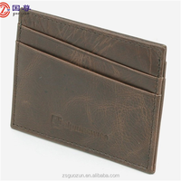 Men Leather Card Holder / Credit Card Holder Genuine Leather