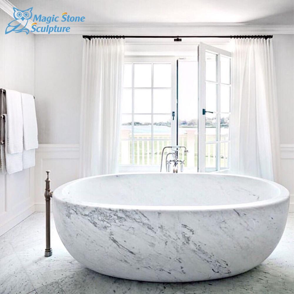 Hot Sitting Carrara Marble Bathtub Natural Stone For Product On Alibaba