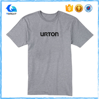 Cheap Custom Design Printed Men's O Neck Cotton T Shirt Bulk Wholesale