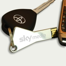 Bulk key usb flash drive sticks 1gb with custom logo