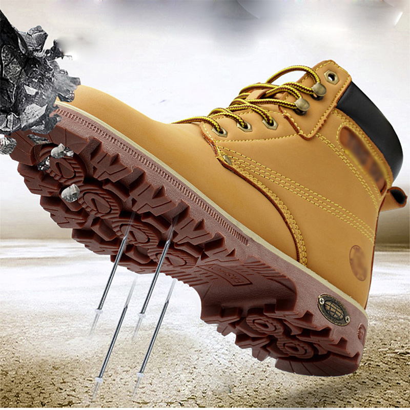 bbd0ac96 China boots steel toe leather wholesale 🇨🇳 - Alibaba