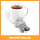 Forme humaine Silicone Tea Infuser, Silicone Passoire À Thé, Silicone Thé Filtre