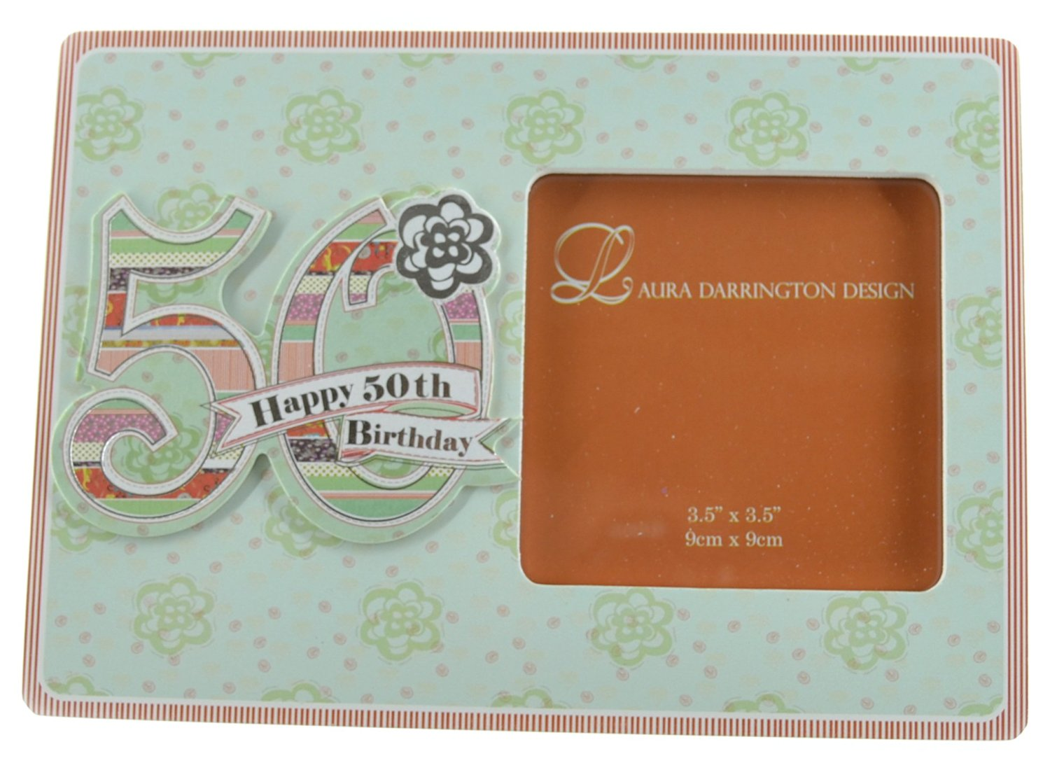 Buy Laura Darrington Patchwork Collection 19cm Wooden Picture Frame