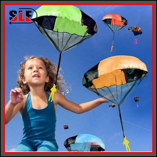 Hand Throwing Kids Mini Play Parachute Toy For Child Soldier Outdoor sports Children's Educational Toys