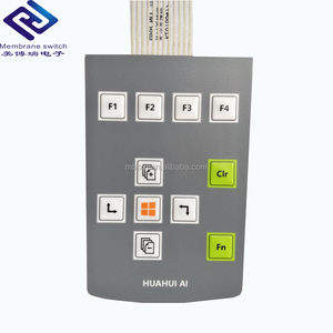 Custom Tactile Metal Dome Membrane Numeric Switch Keypad