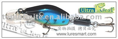Lure, hard bait, Fishing tackle (Joint Minnow)