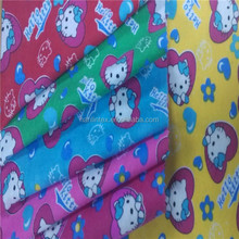 cotton printed flannel fabric with polka dots/enfant sleepwear,shirts printed flannel 20*10