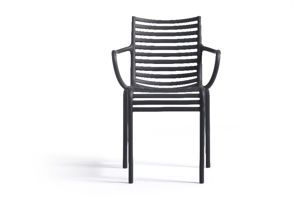Outdoor Furniture W57*D53*H83 cm plastic park bench garden chair