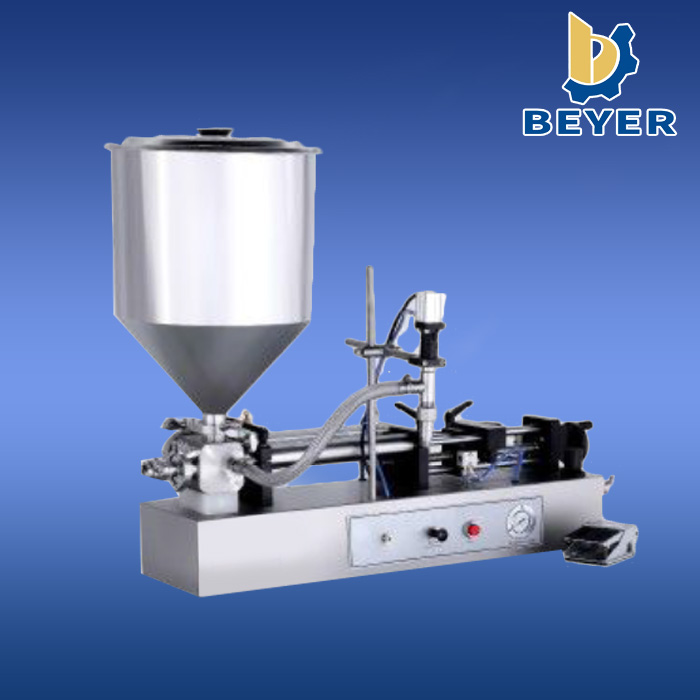 Economic and Efficient semi automatic glass bottle wine filling machine with best service