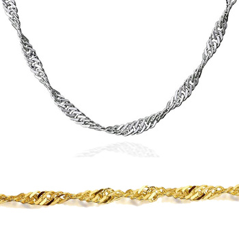 Olivia Simple Design Stainless Steel Silver Jewelry Singapore Chain  Wholesale Gold Necklace Chain - Buy Wholesale Gold Necklace Chain,Silver  Singapore
