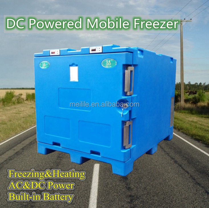 DC Mobile Refrigerator Freezer with Battery Warm-box cold chain mobile refrigerator freezer fish transport vaccine deliver