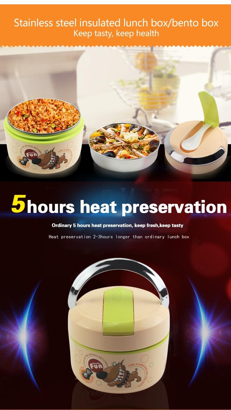 нержавеющая сталь tiffin перевозчик термальный ящик для завтрака