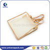 Tote style transparent nylon mesh travel kits bags with zipper