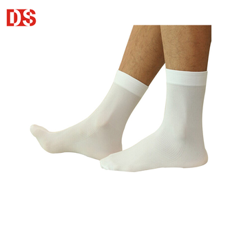 DS-I-1499 mens thin white dress socks thin white socks for men