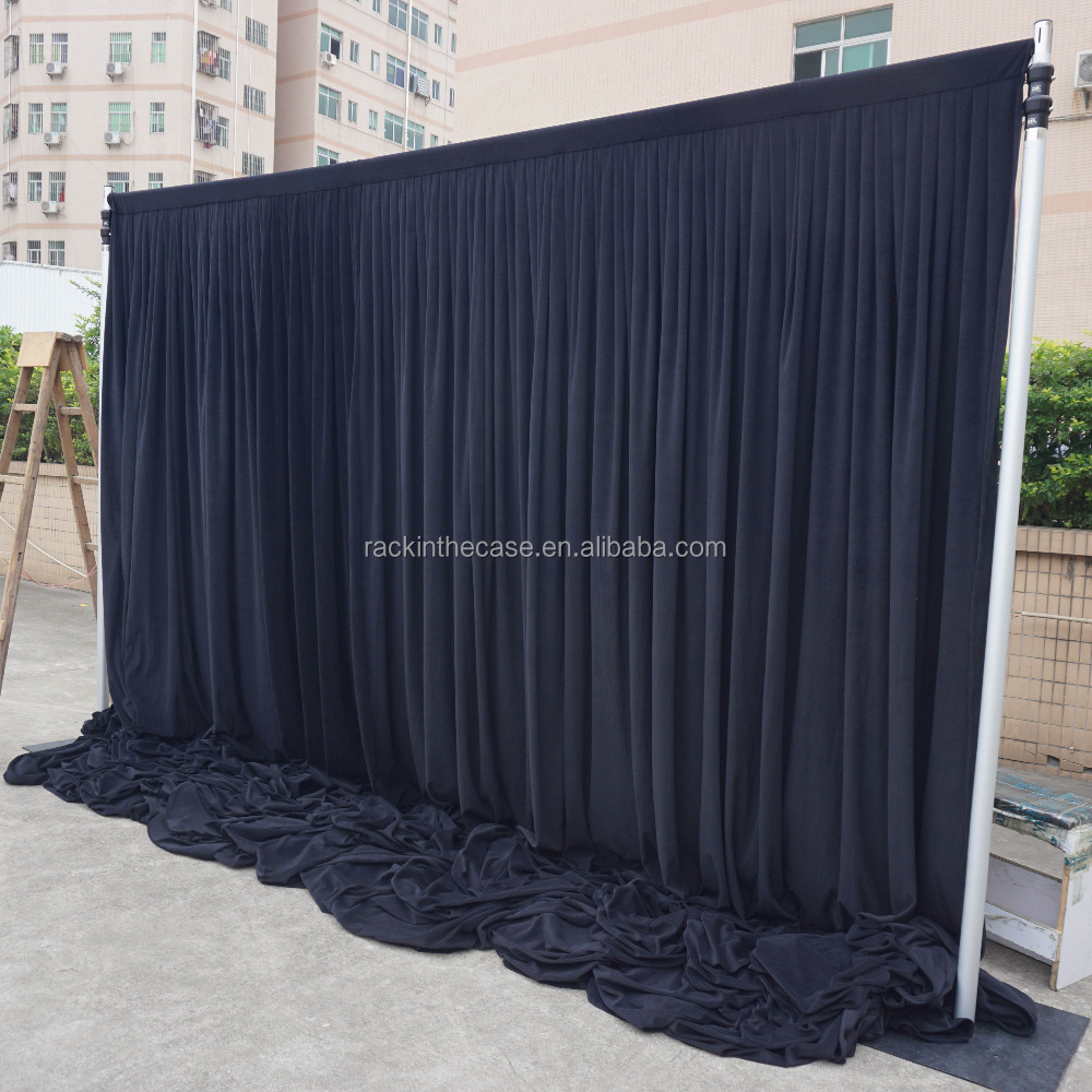 drapes drape and frame backdrop youtube watch pipe pvc diy photo
