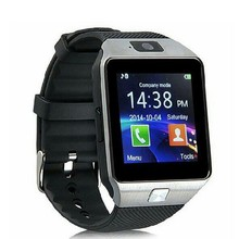 Cheap Android Smart watches Dual SIM Card Bluetooth Pedometer DZ09 Smart Watch Phone