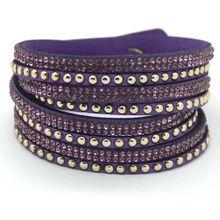 Специальное предложение! Кожаный тканый браслет, многослойный мужской браслет, бесплатная доставка(Китай)