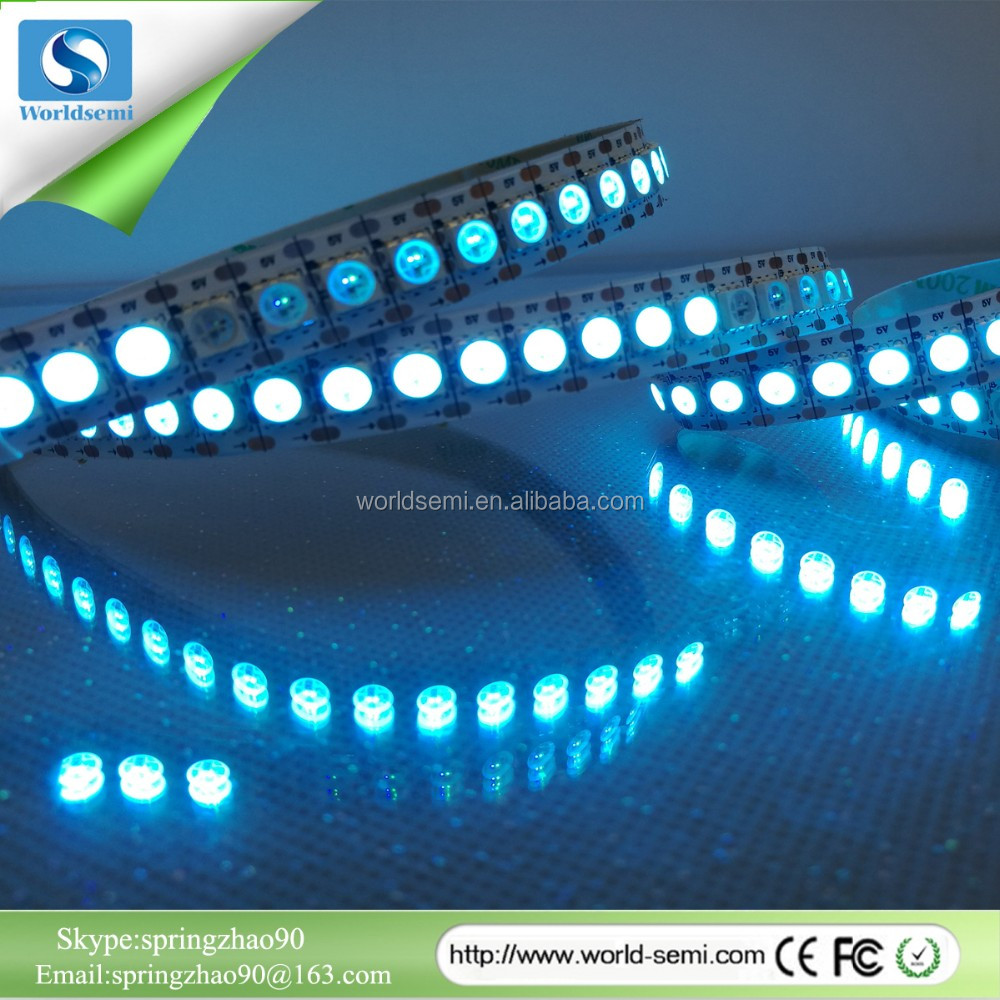 2017 new products ws2813 5050 led strip vertical ribbon led strip