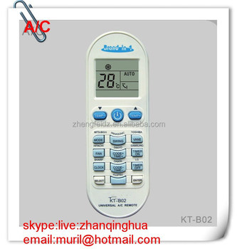 High Quality 15 Keys White Brand In 1 Kt-b02 Universal A/c Remote ...