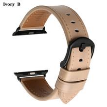 MAIKES браслеты для часов iwatch ремешок 42 мм 38 мм ремешок для часов Apple Watch 4 ремешок 44 мм 40 мм из натуральной коровьей кожи Аксессуары для часов(Китай)