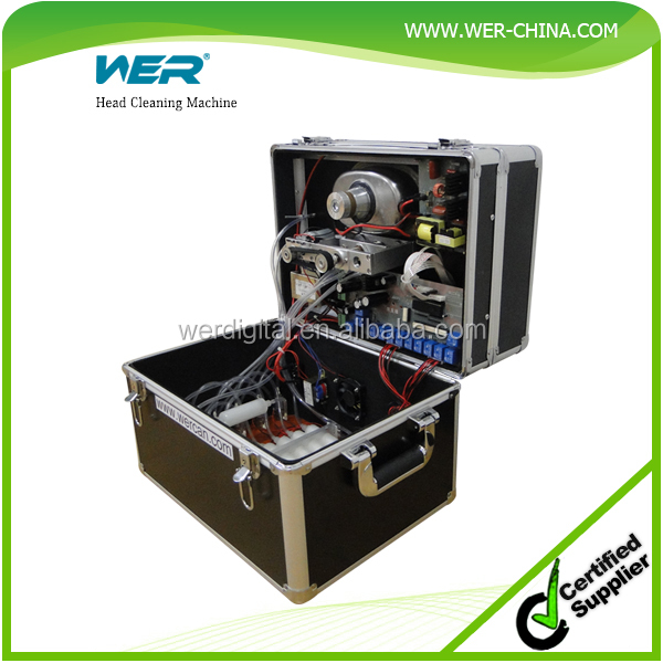 Cheap china printer head cleaner ultrasonic cleaner for printhead