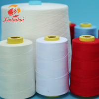 High toughness 42s/2/3 spool spun polyester sewing thread 5000 meter for for mattress and sofa