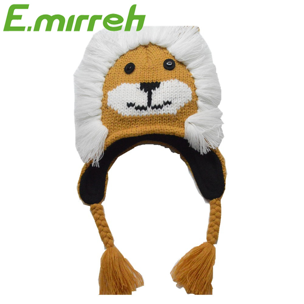Venta al por mayor sombrero animal libre de patrones que hacen punto ...